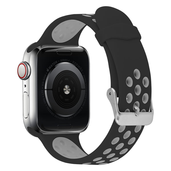 Shop Australia stock FLEXII GRAVITY Sport Silicone Band for Apple Watch Series 5/4/3/2 (44/42MM) - Black/Grey with free shipping online. Shop FlexiiGravity collections with afterpay