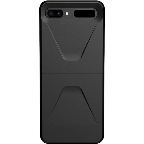 Best rugged case for Galaxy Z flip with black minimalist design, comes with free shipping. Stay protected and safe.