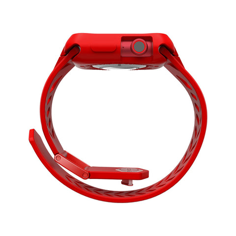Get the latest case & strap from itskins that compatible with Apple watch (40MM) with bright red design the authentic accessories with afterpay & Free express shipping.