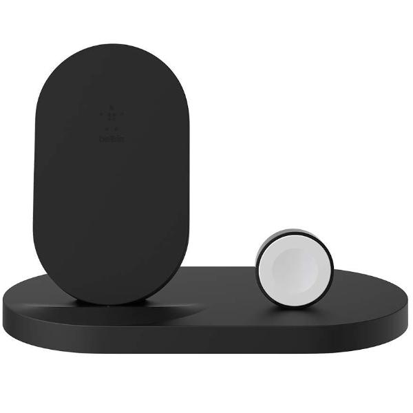 Shop Australia stock BELKIN BOOSTUP WIRELESS CHARGING DOCK FOR IPHONE + APPLE WATCH + USB-A PORT - BLACK with free shipping online. Shop Belkin collections with afterpay Australia Stock