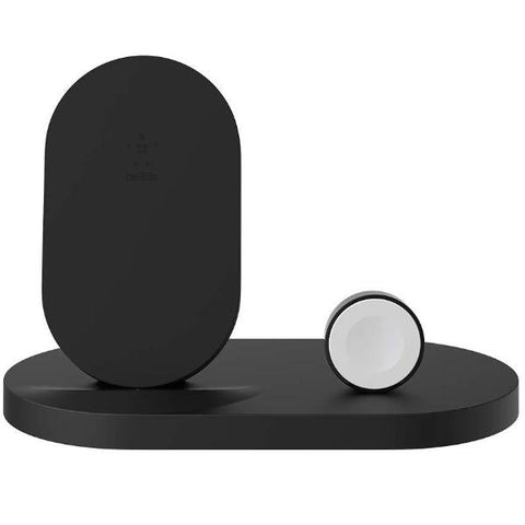Shop Australia stock BELKIN BOOSTUP WIRELESS CHARGING DOCK FOR IPHONE + APPLE WATCH + USB-A PORT - BLACK with free shipping online. Shop Belkin collections with afterpay