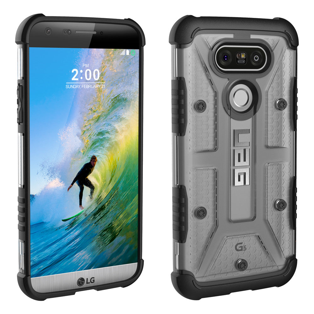 Shop Australia stock UAG Feather-light Composite Military Standard Case For LG G5 - Ice with free shipping online. Shop UAG collections with afterpay Australia Stock
