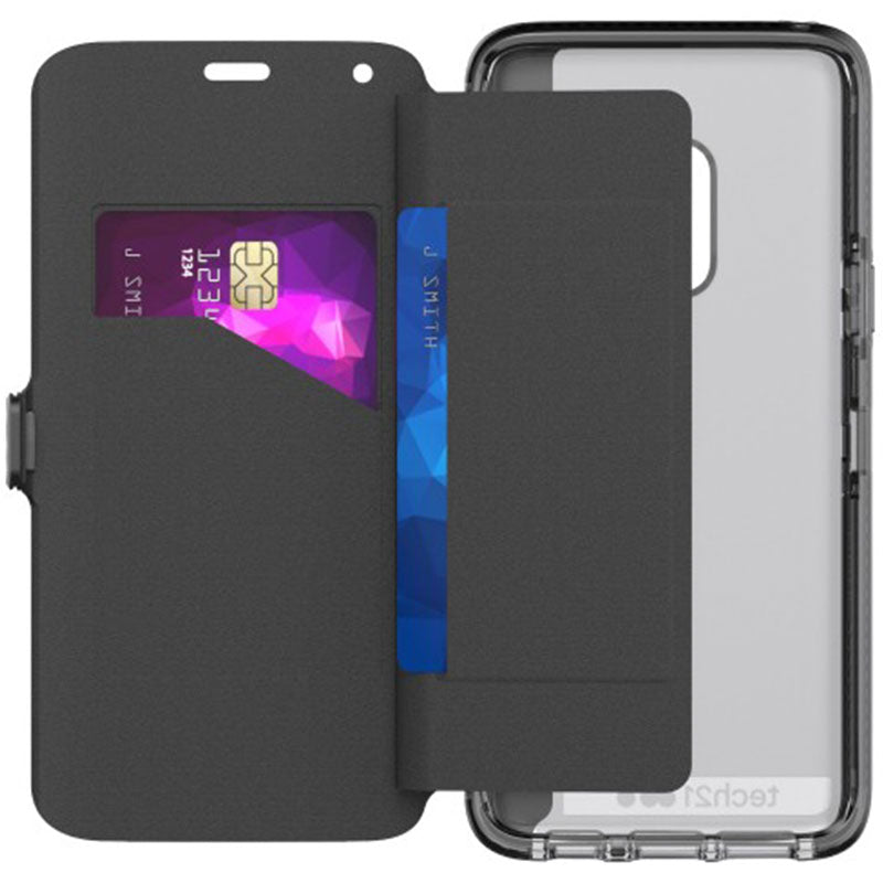 evo wallet card folio case for Samsung galaxy s9 black colour australia Australia Stock