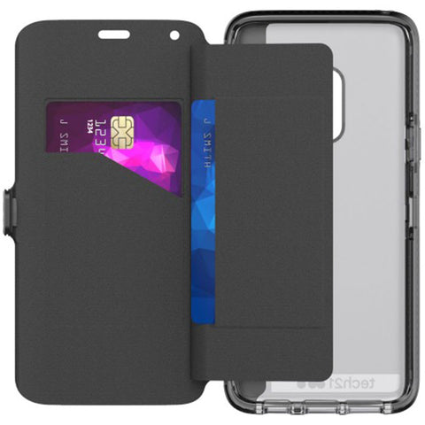 evo wallet card folio case for Samsung galaxy s9 black colour australia