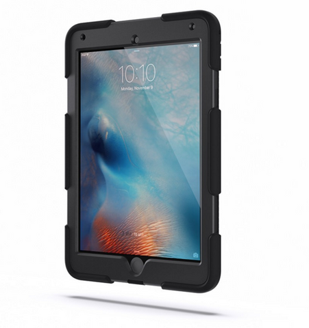 Griffin Survivor All-Terrain Case for iPad Pro 9.7 /Air 2 - Black
