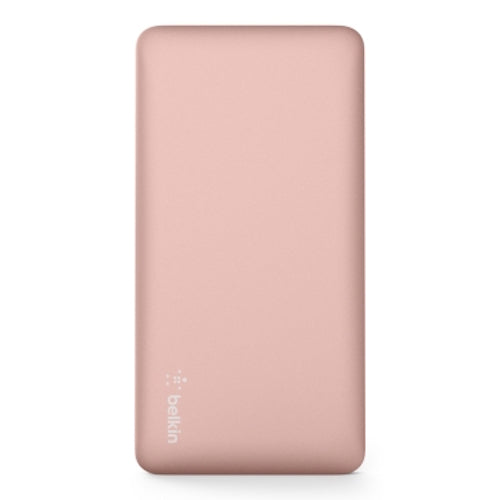 BELKIN POCKET POWER 5K MAH POWER BANK (AKA PORTABLE CHARGER) - ROSE GOLD