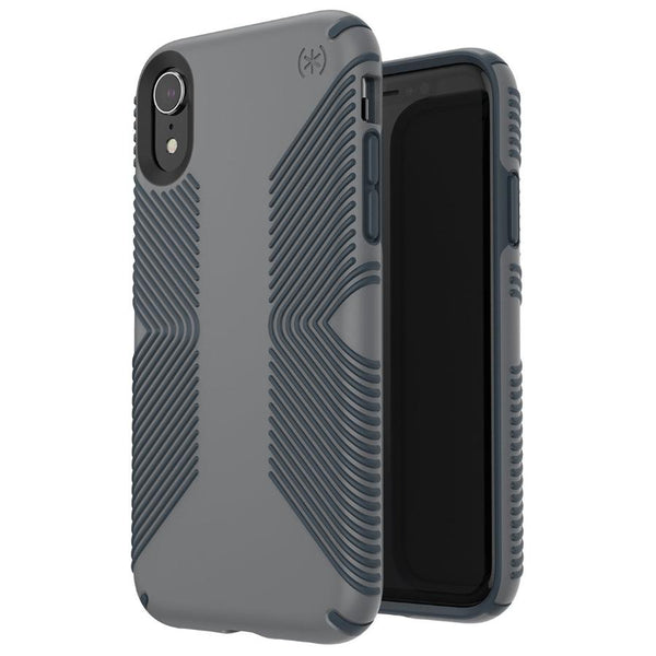 grippy case from Speck for iPhone XR free shipping - grey