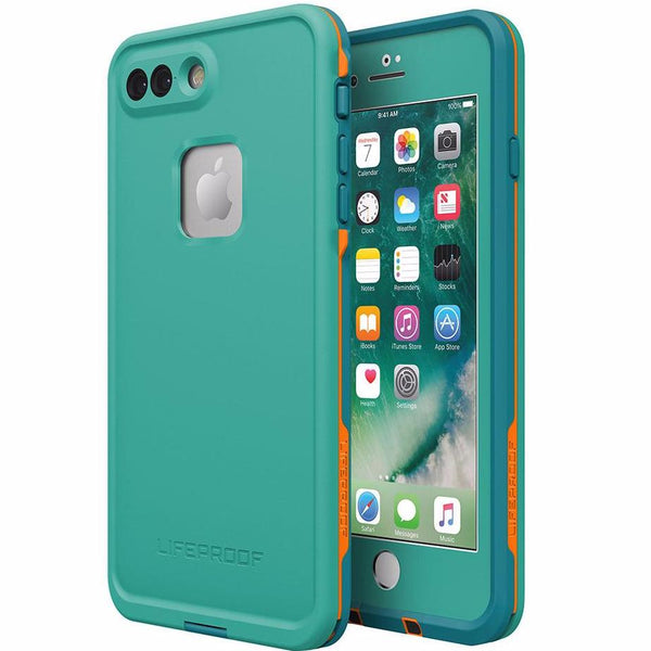 Lifeproof Fre Built-in Scratch Protector Waterproof Case for iPhone 7 Plus- Teal