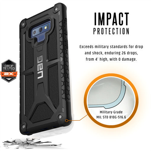 low priced be766 fa9f5 UAG MONARCH RUGGED CASE FOR GALAXY NOTE 9 - BLACK