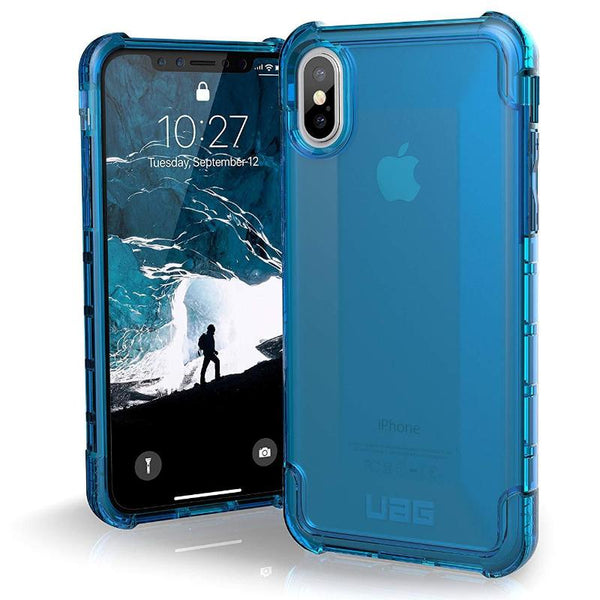 Buy online Urban Armour Gear Plyo Blue case Australia for iPhone XS max