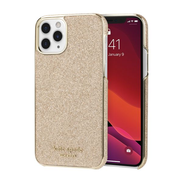 iphone 11 pro designer case gold case glitter cute case from kate spade new york