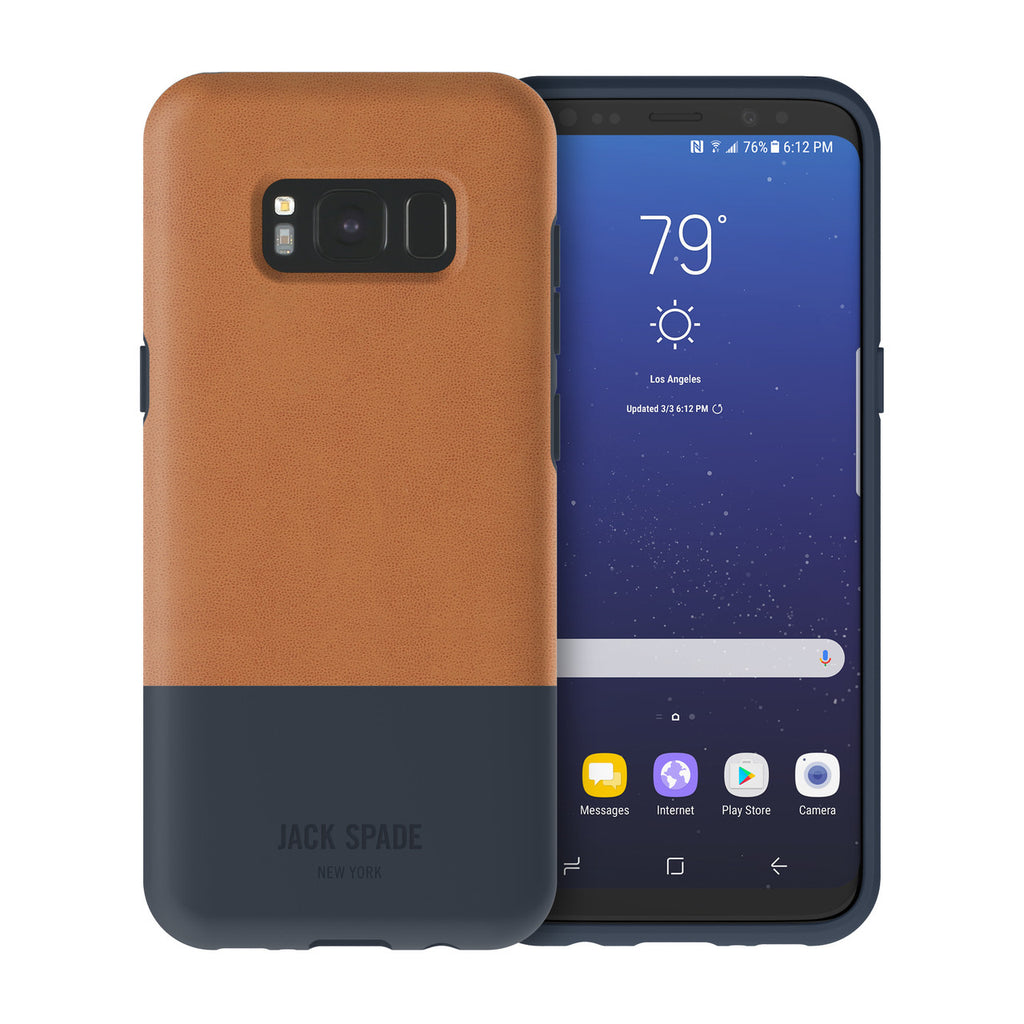 Shop Australia stock JACK SPADE COLOR-BLOCK CASE FOR GALAXY S8+ (6.2 inch) - FULTON NAVY with free shipping online. Shop Jack Spade New York collections with afterpay Australia Stock