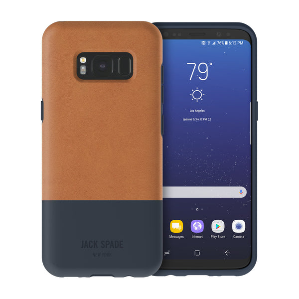 Shop Australia stock JACK SPADE COLOR-BLOCK CASE FOR GALAXY S8+ (6.2 inch) - FULTON NAVY with free shipping online. Shop Jack Spade New York collections with afterpay
