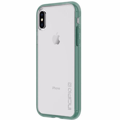 iPhone XS & iPhone X incipio octane bumper case green transparent white australia