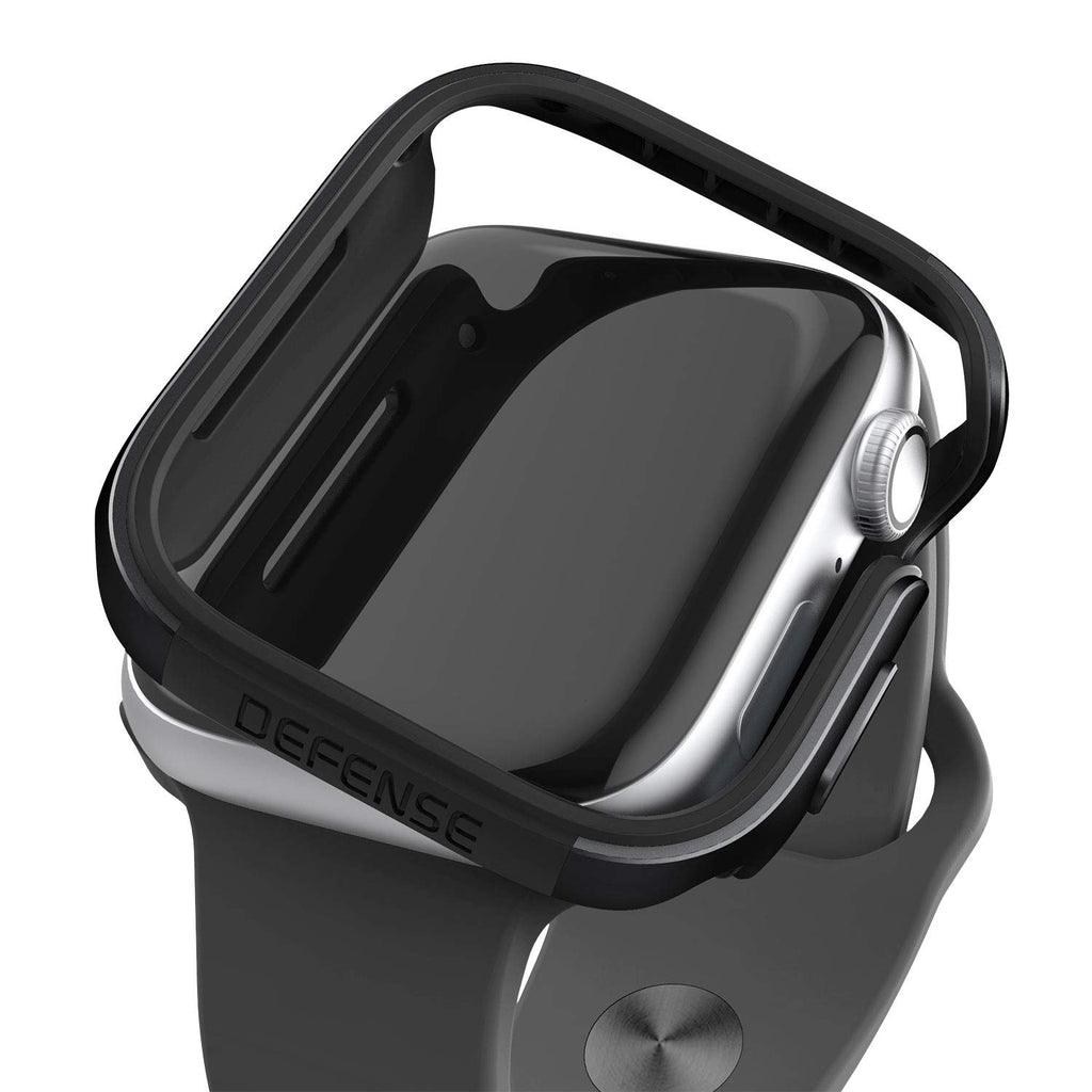 Shop Australia stock X-DORIA DEFENSE EDGE ALUMINIUM BUMPER CASE FOR APPLE WATCH SERIES 3/2/1 (38MM) - BLACK with free shipping online. Shop X-Doria collections with afterpay Australia Stock