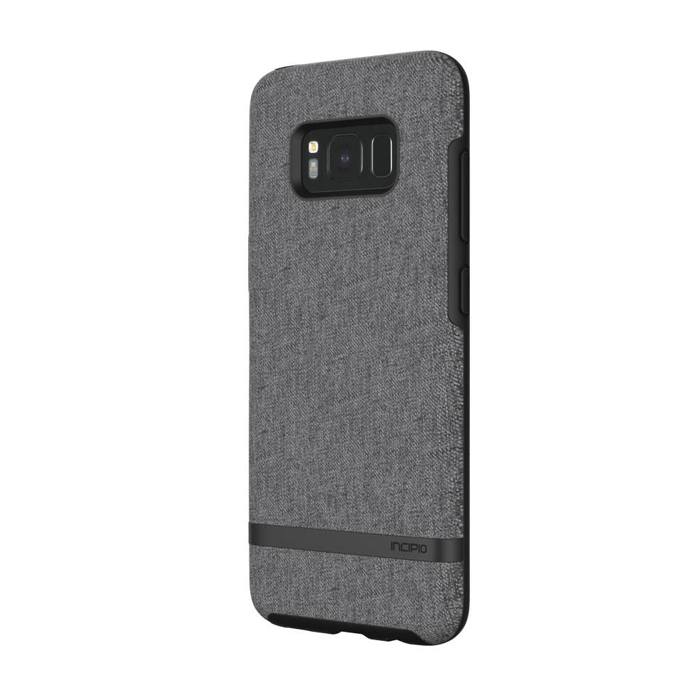 INCIPIO CARNABY ESQUIRE PREMIUM FABRIC CASE FOR GALAXY S8+ (6.2 INCH) - GRAY Australia Stock