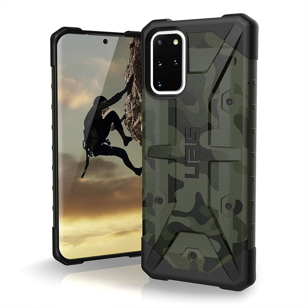 "Shop Australia stock UAG Pathfinder SE Feeather-Light Rugged Case For Galaxy S20 (6.2"") - Forrest Camo with free shipping online. Shop UAG collections with afterpay"