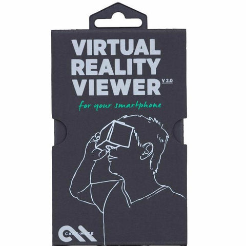 CaseMate Google Cardboard Virtual Reality Viewer V2.0 - Black