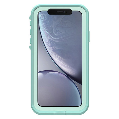 front view with screen of fre waterproof case green mint colour Australia Stock