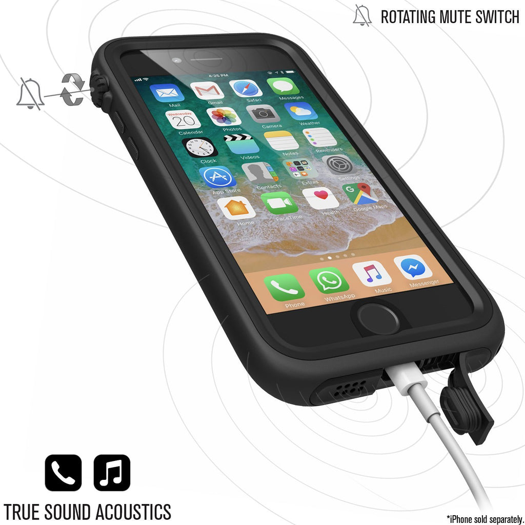 Shop Australia stock CATALYST WATERPROOF RUGGED CASE FOR IPHONE 8/7 - STEALTH BLACK with free shipping online. Shop Catalyst collections with afterpay Australia Stock