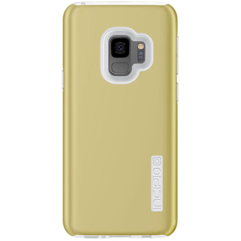 INCIPIO DUALPRO DUAL LAYER PROTECTIVE CASE FOR GALAXY S9 - INRIDESCENT GOLD