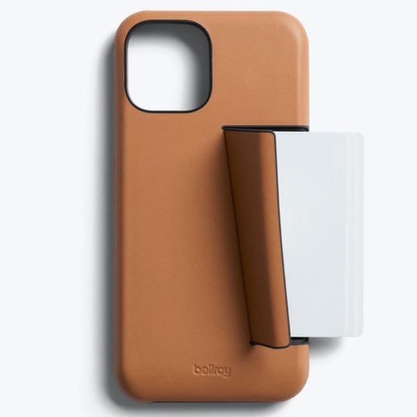 BELLROY 3 Card Leather Case For iPhone 12 Pro Max (6.7