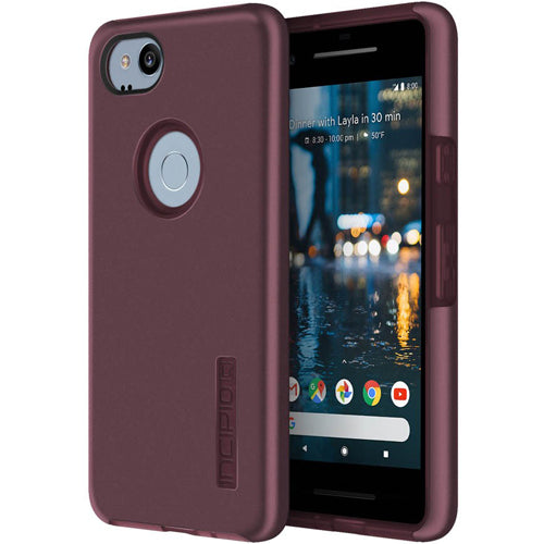 store to buy from authorized distributor incipio dualpro protective case for google pixel 2 - merlot. free express shipping australia wide. Australia Stock
