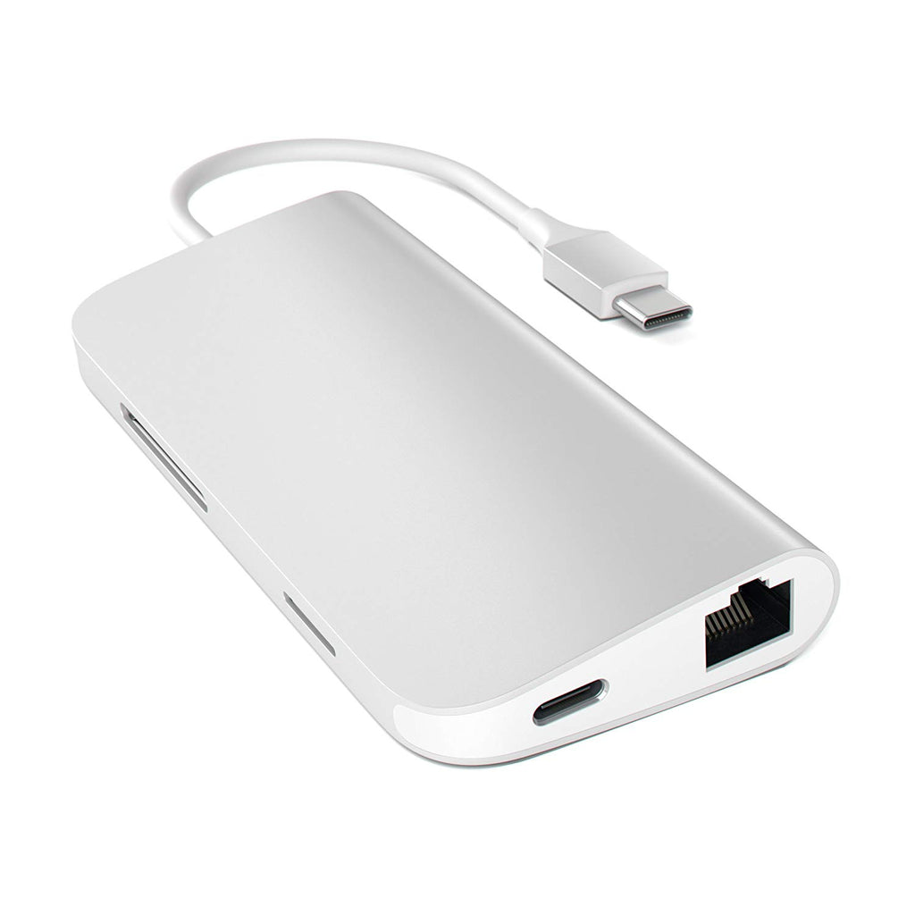 Shop Australia stock SATECHI TYPE-C MULTI-PORT ADAPTER 4K WITH ETHERNET V2 - SILVER with free shipping online. Shop SATECHI collections with afterpay Australia Stock