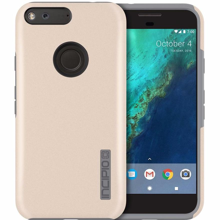 Where place to buy from authorized distirbutor and trusted online store for Incipio DualPro Case for Google Pixel - Champagne/Gray. Free Australia wide express shipping on Syntricate. Australia Stock