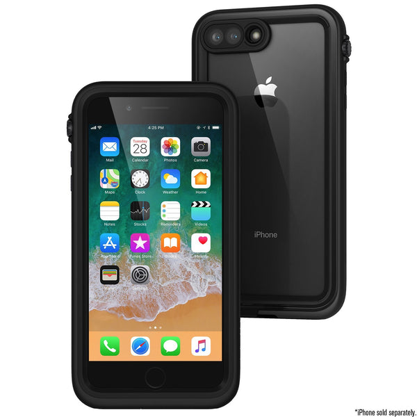 CATALYST WATERPROOF RUGGED CASE FOR IPHONE 8 PLUS/7 PLUS- STEALTH BLACK