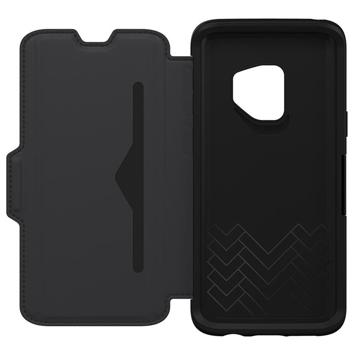 open view samsung s9 strada leather black australia Australia Stock