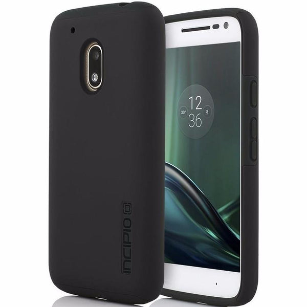 Authorized distributor to get your brand new Incipio Dualpro Hard Shell Case For Moto G4 Play - Black . Free express shipping from trusted official online store Syntricate.