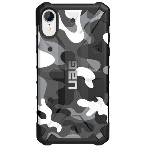 buy drop proof case for iphone xr camo pattern from uag australia with free express shipping.