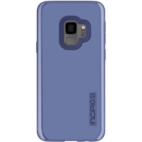 INCIPIO DUALPRO DUAL LAYER PROTECTIVE CASE FOR GALAXY S9 - INRIDESCENT BLUE
