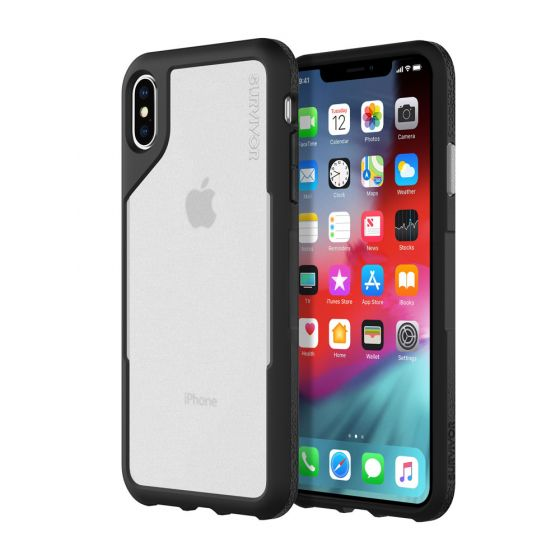 Shop Australia stock SURVIVOR ENDURANCE CASE FOR IPHONE XS MAX BLACK/GRAY COLOUR From GRIFFIN with free shipping online. Shop GRIFFIN collections with afterpay.