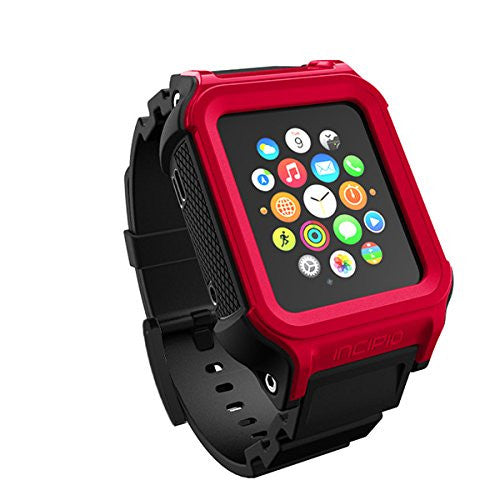 Shop Australia stock Incipio Octane Military-Graded Band for Apple Watch 38mm (Series 1) - Red/Black with free shipping online. Shop Incipio collections with afterpay Australia Stock