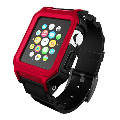 Shop Australia stock Incipio Octane Military-Graded Band for Apple Watch 38mm (Series 1) - Red/Black with free shipping online. Shop Incipio collections with afterpay