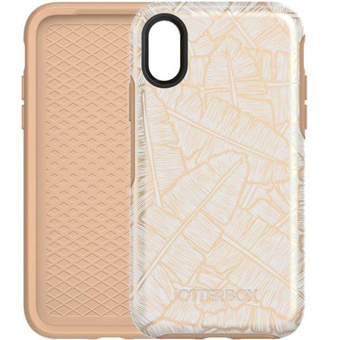 place to buy unique and tough case from Otterbox Symmetry Graphics Stylish Case For Iphone X - White/Roasted Tan free shipping australia wide