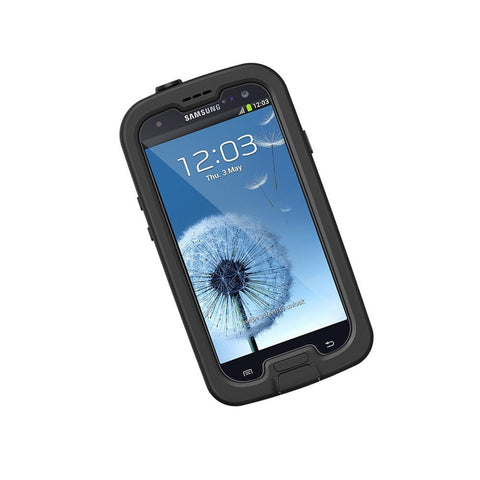 LIFEPROOF FRE WATERPROOF CASE FOR GALAXY S3 -BLACK/CLEAR