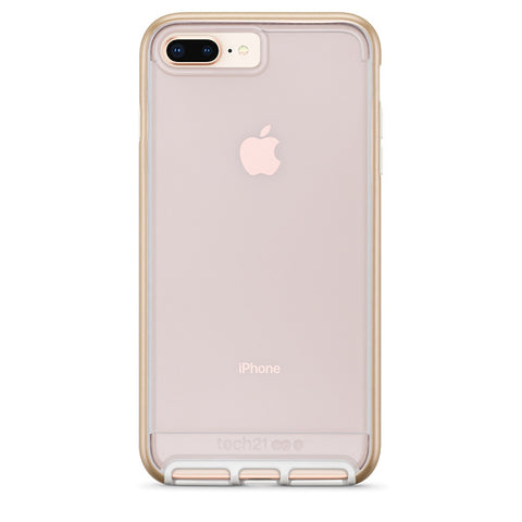 Place to buy EVO ELITE FLEXSHOCK CASE FOR IPHONE 8 PLUS/ 7 PLUS - GOLD FROM TECH21 online in Australia free shipping & afterpay.
