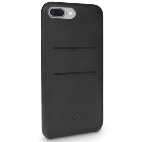 place to buy genuine and original Twelve South Relaxed Leather Card Pockets Case for iPhone 8 Plus/7 Plus /6s Plus- Black free shipping australia wide