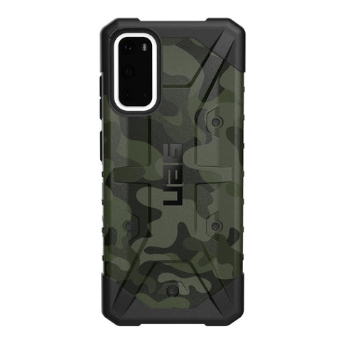 "Shop Australia stock UAG Pathfinder SE Feeather-Light Rugged Case For Galaxy S20 (6.2"") - Forest Camo with free shipping online. Shop Syntricate collections with afterpay"
