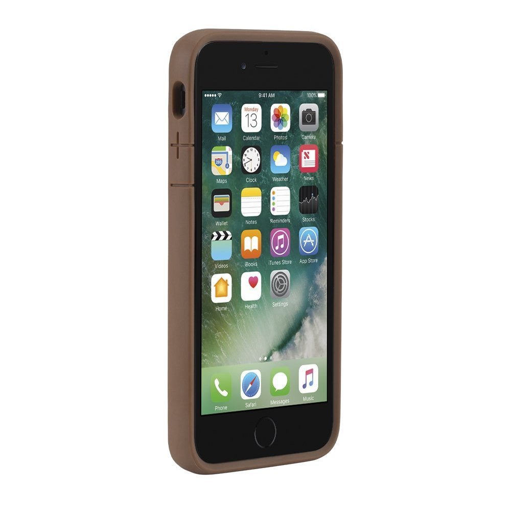 buy genuine Incase Icon II Pebbled Leather TENSAERLITE Case for iPhone 8/iPhone 7 - Brown colour. Free express shipping Australia wide only on Syntricate. Australia Stock