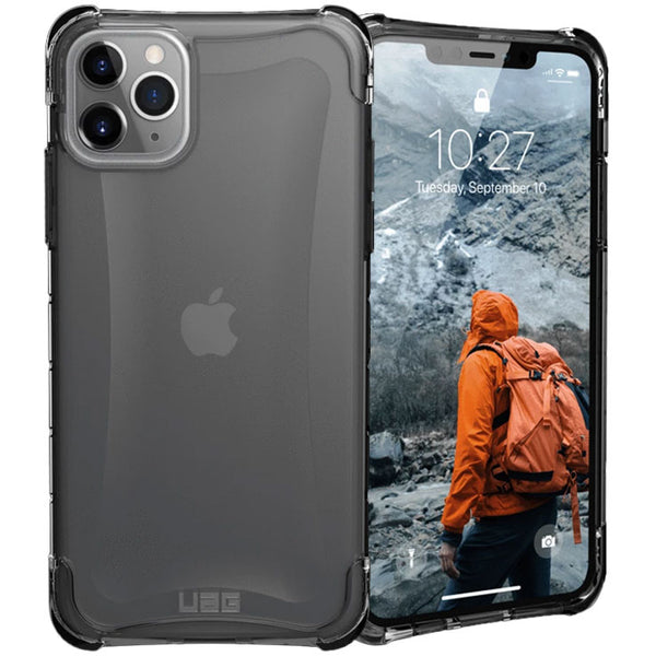 clear drop prroof case gray colour for iphone 11 pro max
