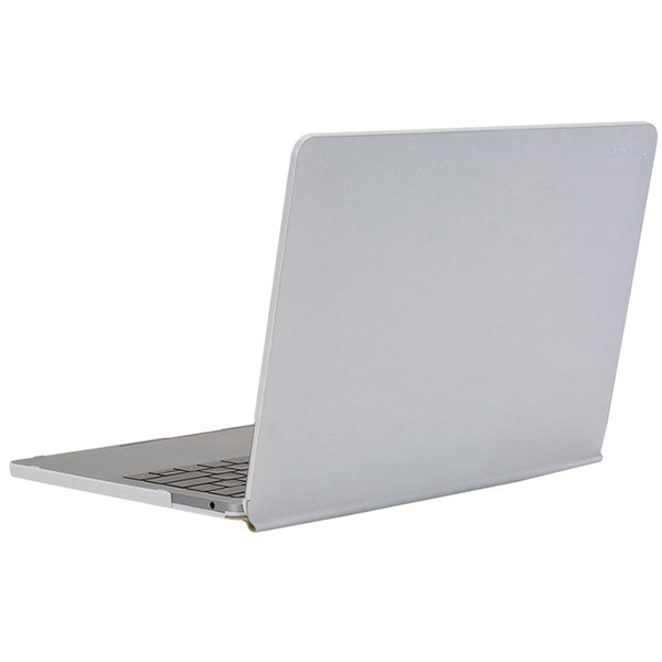 INCASE SNAP JACKET PROTECTIVE CASE FOR MACBOOK PRO 15 W/TOUCH BAR - SILVER COLOUR