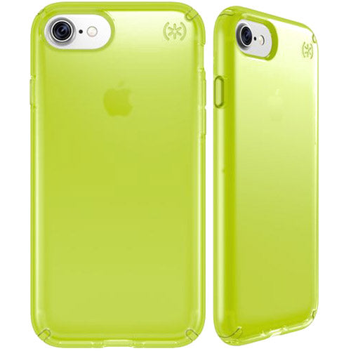 Buy genuine and fancy cute case from Speck Presidio Clear Neon Impactium Case For Iphone 8/7/6S - Lightning Yellow. Free express shipping Australia from authorized distributor.