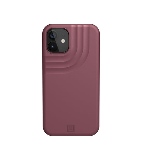 "Buy New iPhone 12 Mini (5.4"") UAG [U] Anchor Armor Shell Rugged Case - Aubergine authentic accessories with afterpay & Free express shipping."