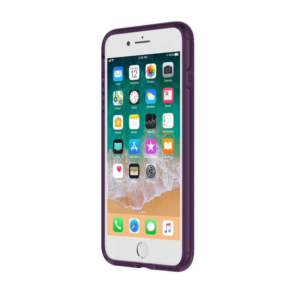 INCIPIO OCTANE PURE TRANSLUCENT CO-MOLDED CASE FOR IPHONE 8 PLUS/7 PLUS - PLUM Australia Stock