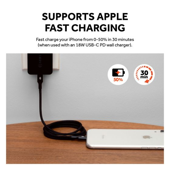 place to buy online usb-c to lighting cable with mfi certified australia Australia Stock