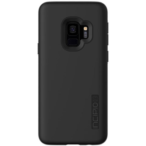 INCIPIO DUALPRO DUAL LAYER PROTECTIVE CASE FOR GALAXY S9 - BLACK